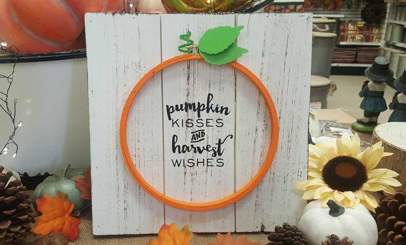Pumpkin Plaque @ Meridian Location | Meridian | Idaho | United States