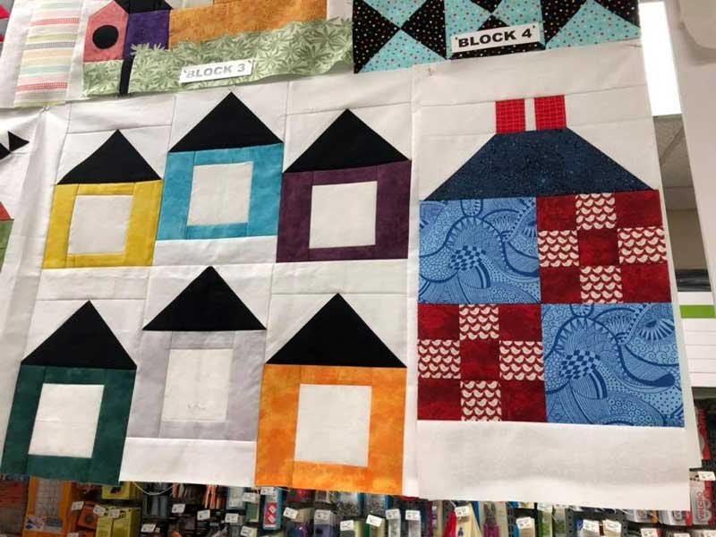Quilt Club @ Medford Station Location | Medford | Oregon | United States