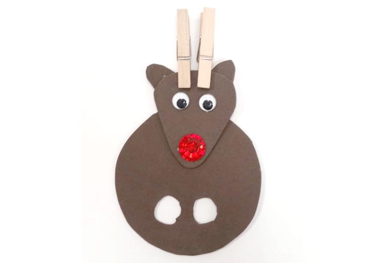 Reindeer Finger Puppet @ Medford Location | Medford | Oregon | United States