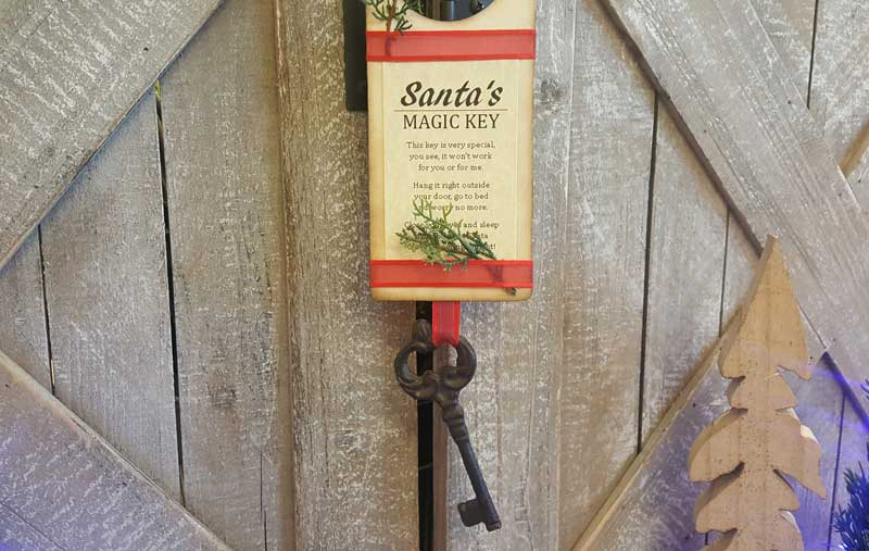 Santa's Magic Key Door Hanger @ Meridian Location | Meridian | Idaho | United States