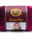Scarfie Hot Pink and Black yarn