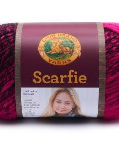 Buy Scarfie Hot Pink and Black yarn at Craft Warehouse