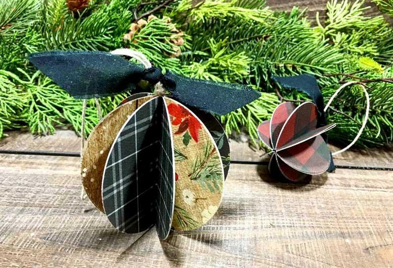 Scrap Paper Ornament
