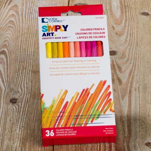 Loew Cornell Colored Pencils 36ct