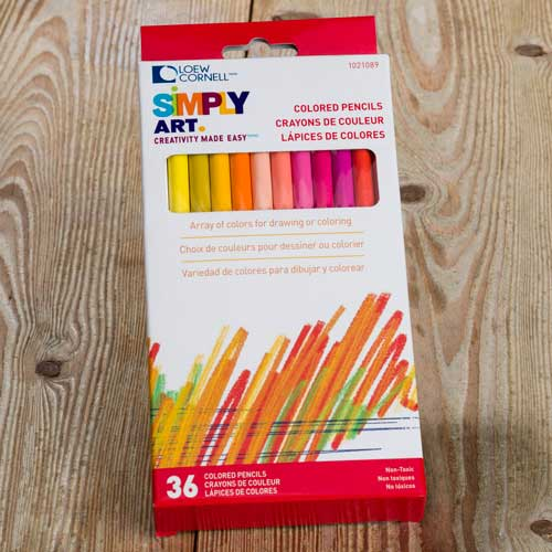 Loew Cornell Colored Pencils 36ct | Craft Warehouse