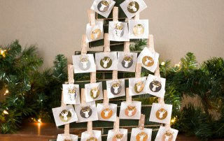 Christmas Advent countdown tree