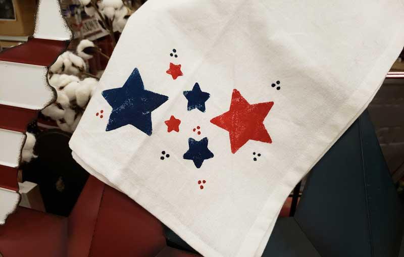 Star Stencil Towel @ Meridian Location | Meridian | Idaho | United States