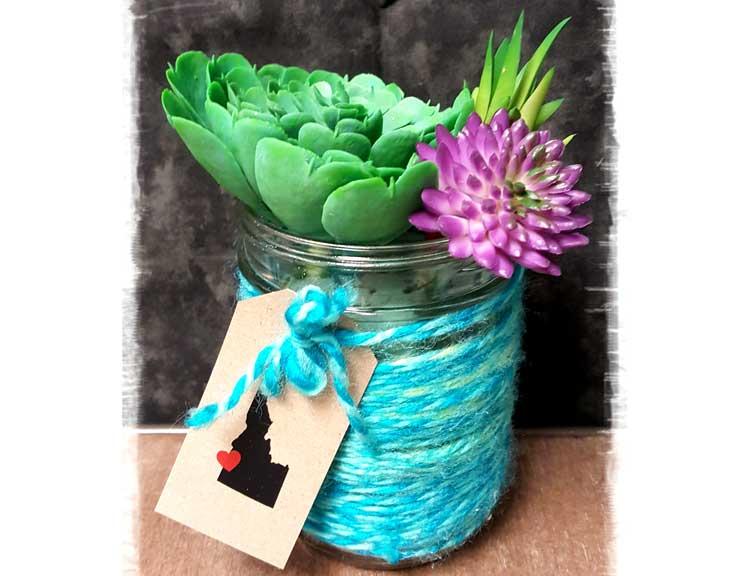 Succulent Jar @ Meridian Location | Meridian | Idaho | United States