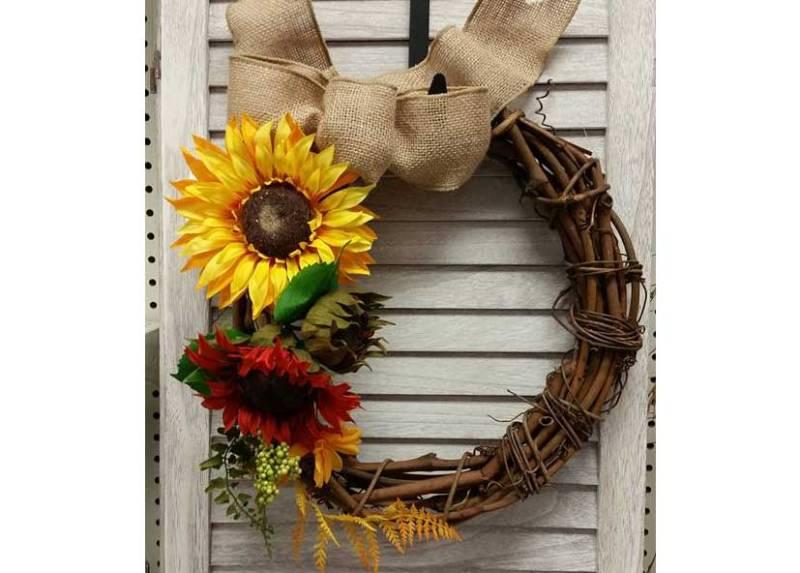 Sunflower Wreath @ Medford Location | Medford | Oregon | United States