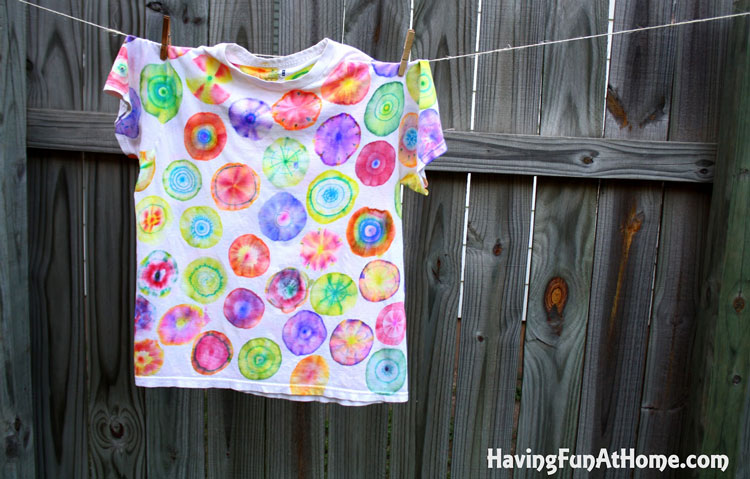 Make & Take - Sharpie Tie Dye T-Shirt @ Beaverton Location   Beaverton   Oregon   United States