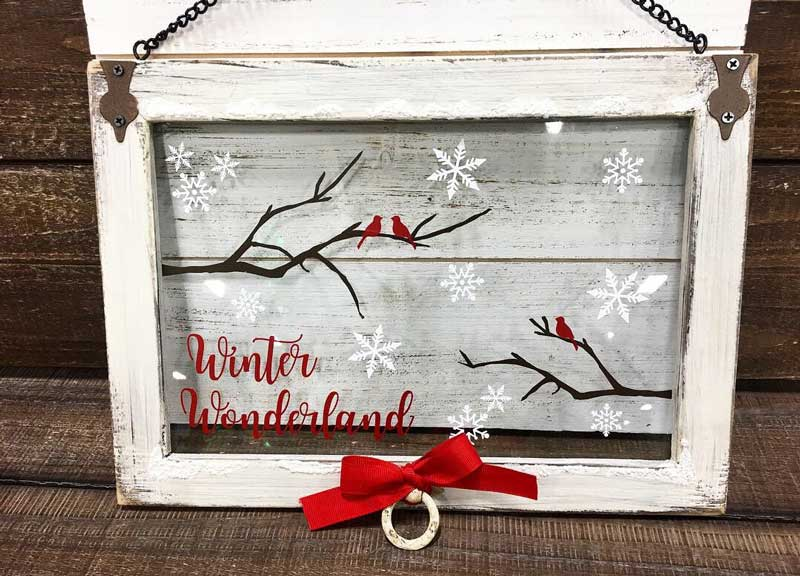 Wild Wednesday: Winter Wonderland Window @ Hazel Dell Location | Vancouver | Washington | United States