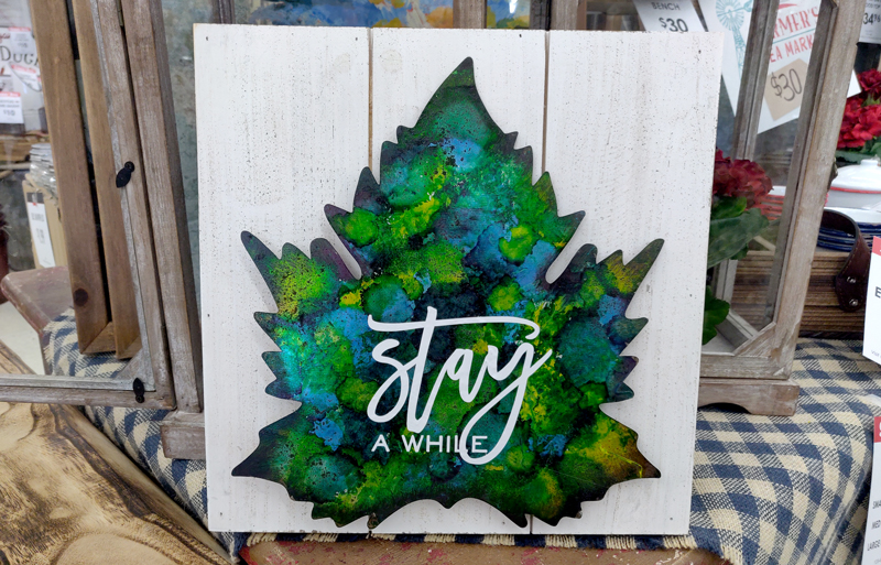 Alcohol Ink on Metal Leaf @ All Locations | Vancouver | Washington | United States