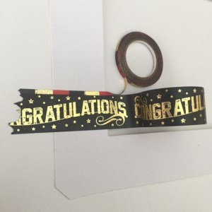 Little b washi tape graduation