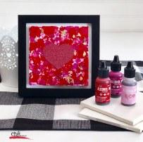 Make Alcohol Ink Tile Art