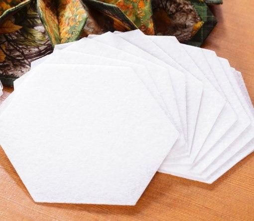 Fold and Stitch Wreath Precut Interfacing
