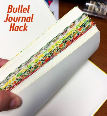 Bullet Journal Hack