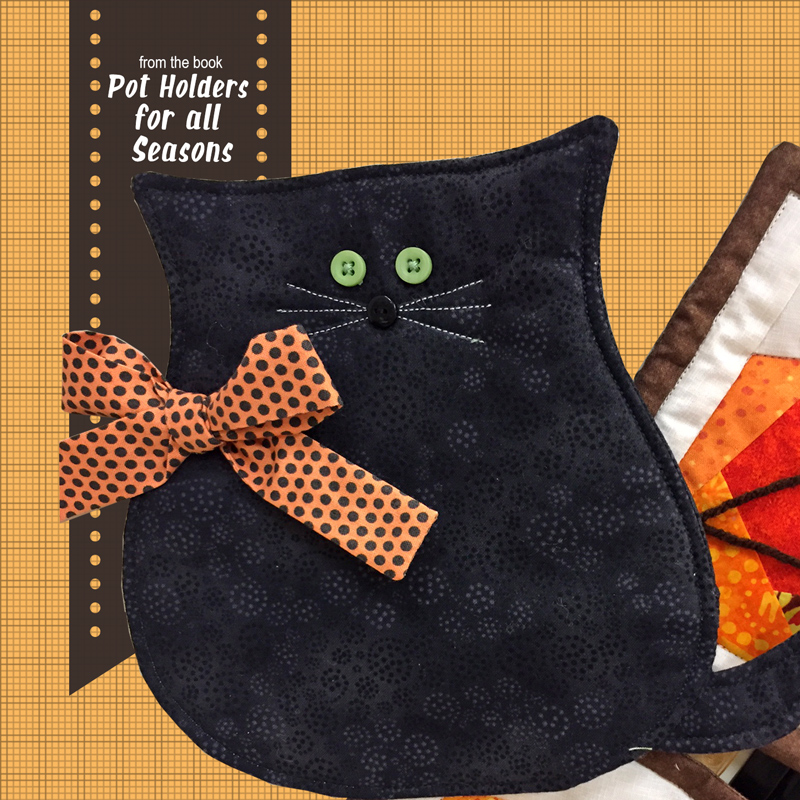 Cat Potholder from Pot Holders for all Seasons