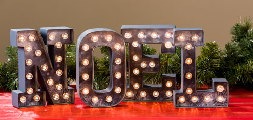 Marquee Letters, Numbers & Shape Kits