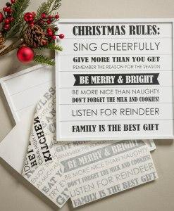 """Christmas Rules"" Vinyl"