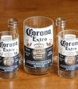 Recycled Corona Glasses