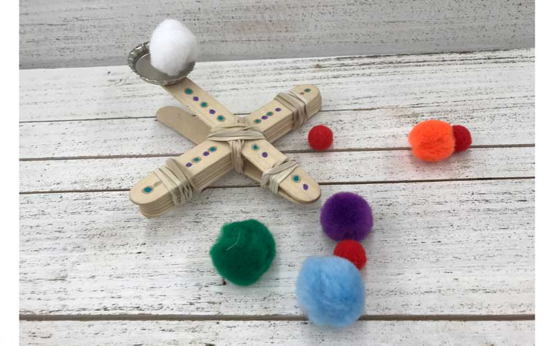 Craft Stick Catapult @ Vancouver Location | Meridian | Idaho | United States
