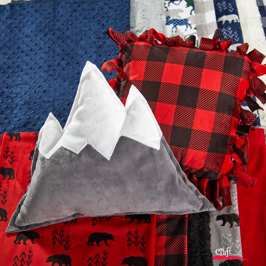Mountain Pillow - Free Pattern