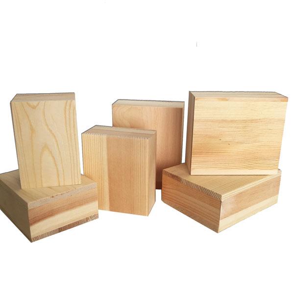 6 pc Wood Block Set at Craft Warehouse