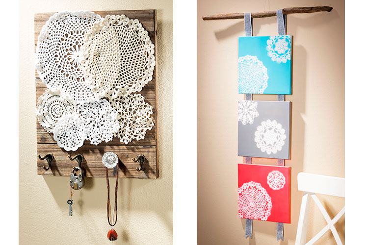 Create Home Decor and Craft projects with Doilies at Craft Warehouse