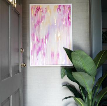 Drip Art on Canvas