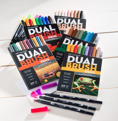 Tombow Dual Brush Pens available at Craft Warehouse