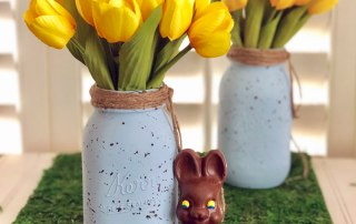 Make a Bird's Egg Mason Jar for Easter
