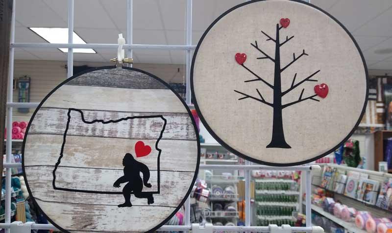 Hoop Wall Art @ Kennewick Location | Vancouver | Washington | United States