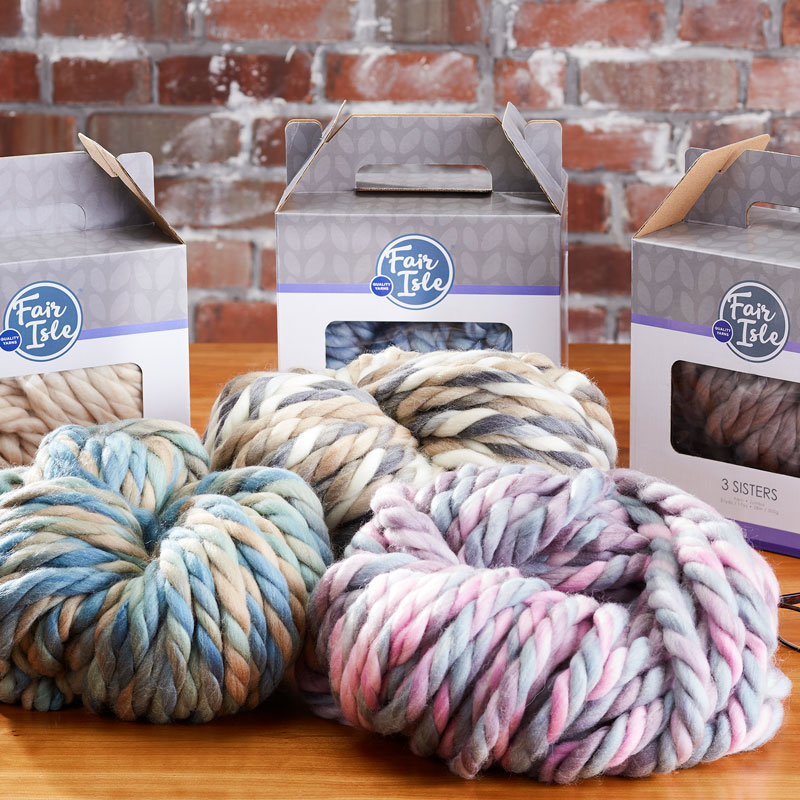 Super Chunky Yarns by 3 Sisters