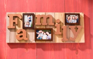 Wall Family Photo Plaque