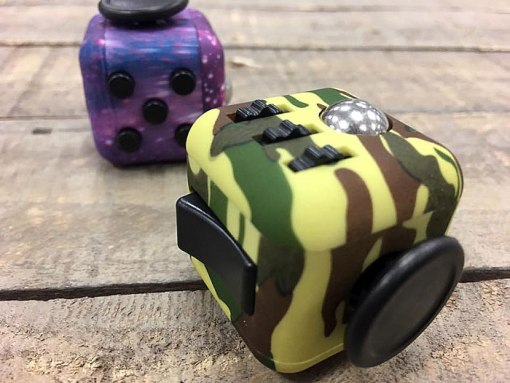 Fidget Cubes at Craft Warehouse
