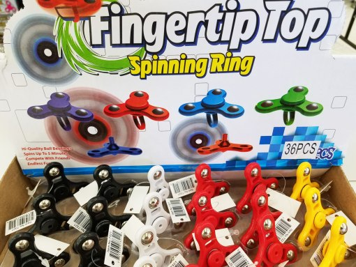 Fidget Spinner Rings at Craft Warehouse