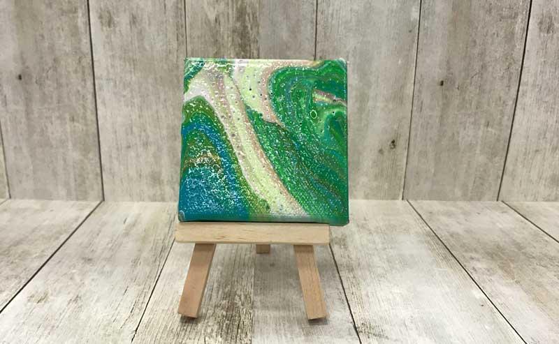Fine Arts Paint Pouring