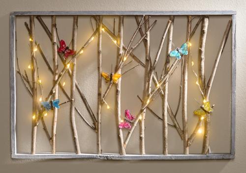 firefly wall art