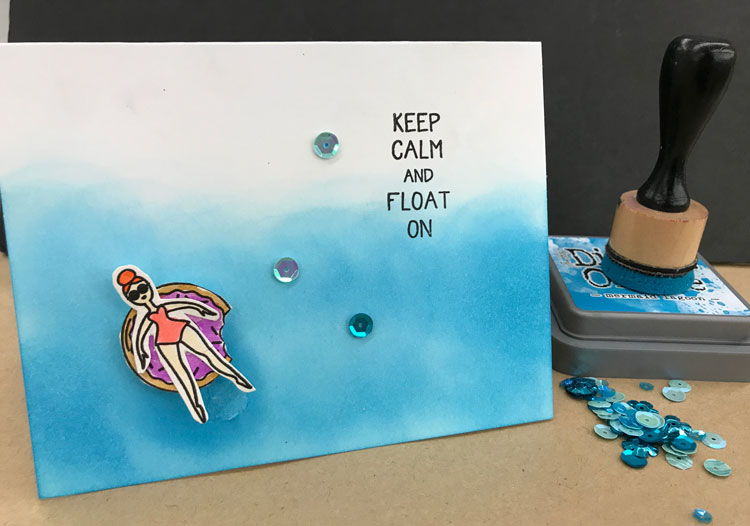 Float On Card Make & Take @ Vancouver Location   Vancouver   Washington   United States