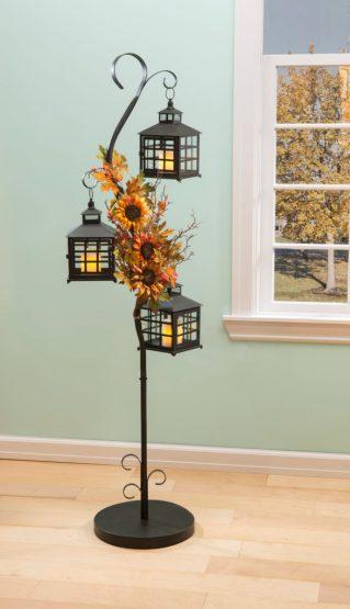3 tier floor lantern stand