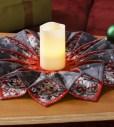 Fold and Stitch Dimensional Wreath