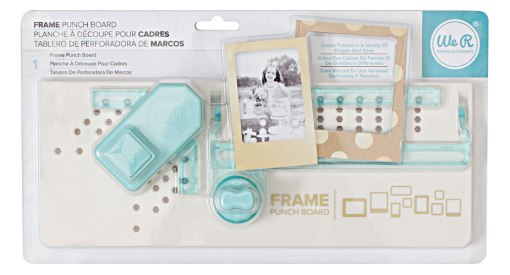 Buy We R Memory Keepers Frame Punch Board at Craft Warehouse