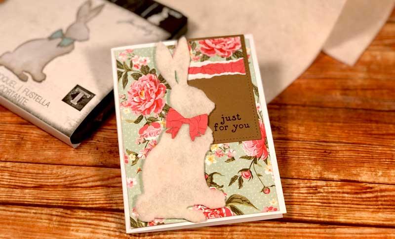 Fuzzy Bunny Card Make and Take