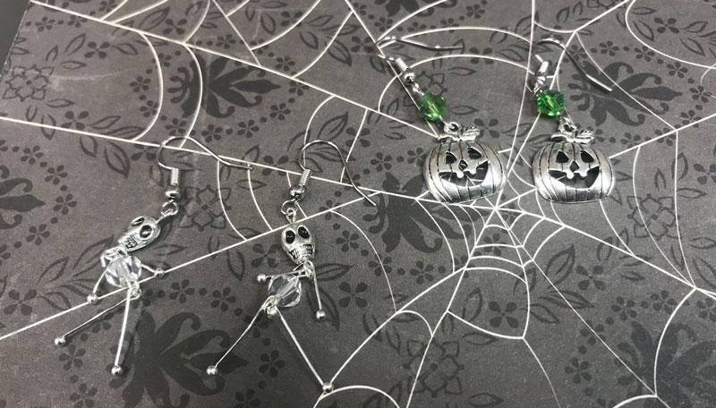 Halloween Earrings @ Salem Location | Salem | Oregon | United States