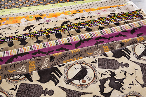 Halloween cotton Fabric from Craft Warehouse