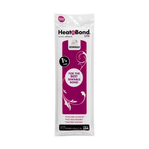 HeatnBond Lite for No-sew Fusing fabric at Craft Warehouse
