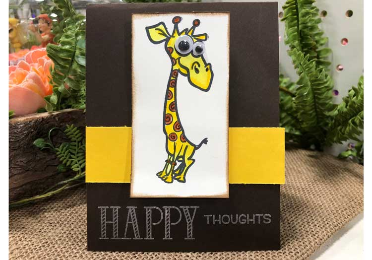 Kids Giraffes & Happy Thoughts Card @ Hazel Dell Location | Vancouver | Washington | United States