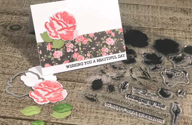 Layering Rose Card Make & Take