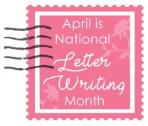 April is Letter Writing Month at Craft Warehouse