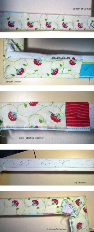 Make Sewing Organization Board